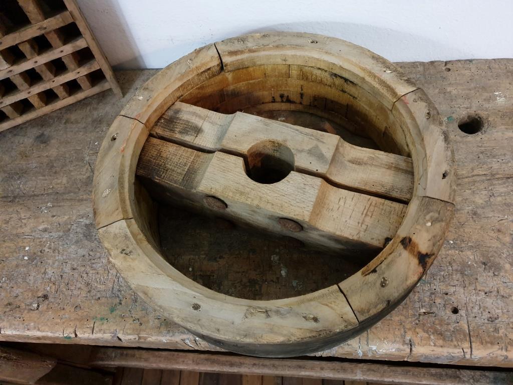 0 poulie en bois largeur 12