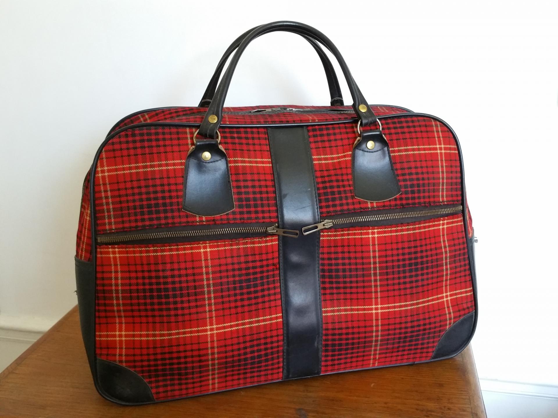 0 sac de voyage ecossais