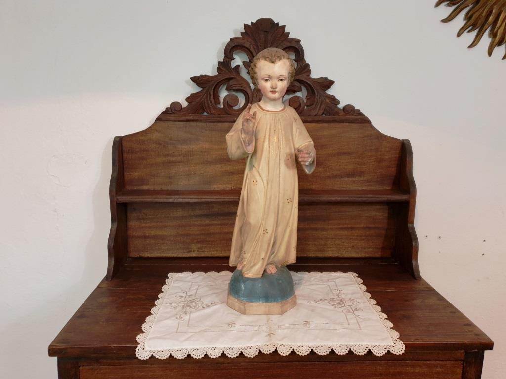 0 statue religieuse enfant