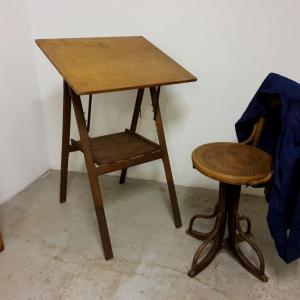 0 table a dessin d architecte