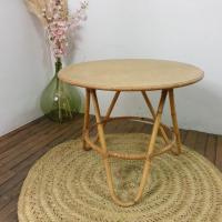 0 table basse en bambou