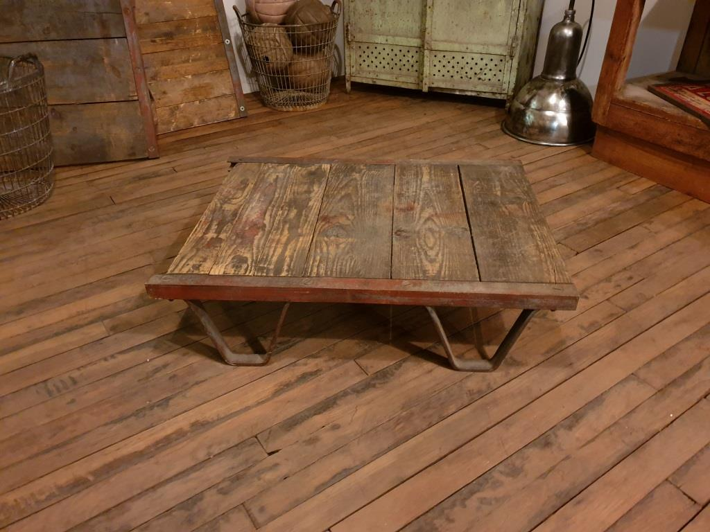 0 table basse palette sncf a