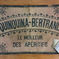 0 tapis de cartes quinquina bertrand