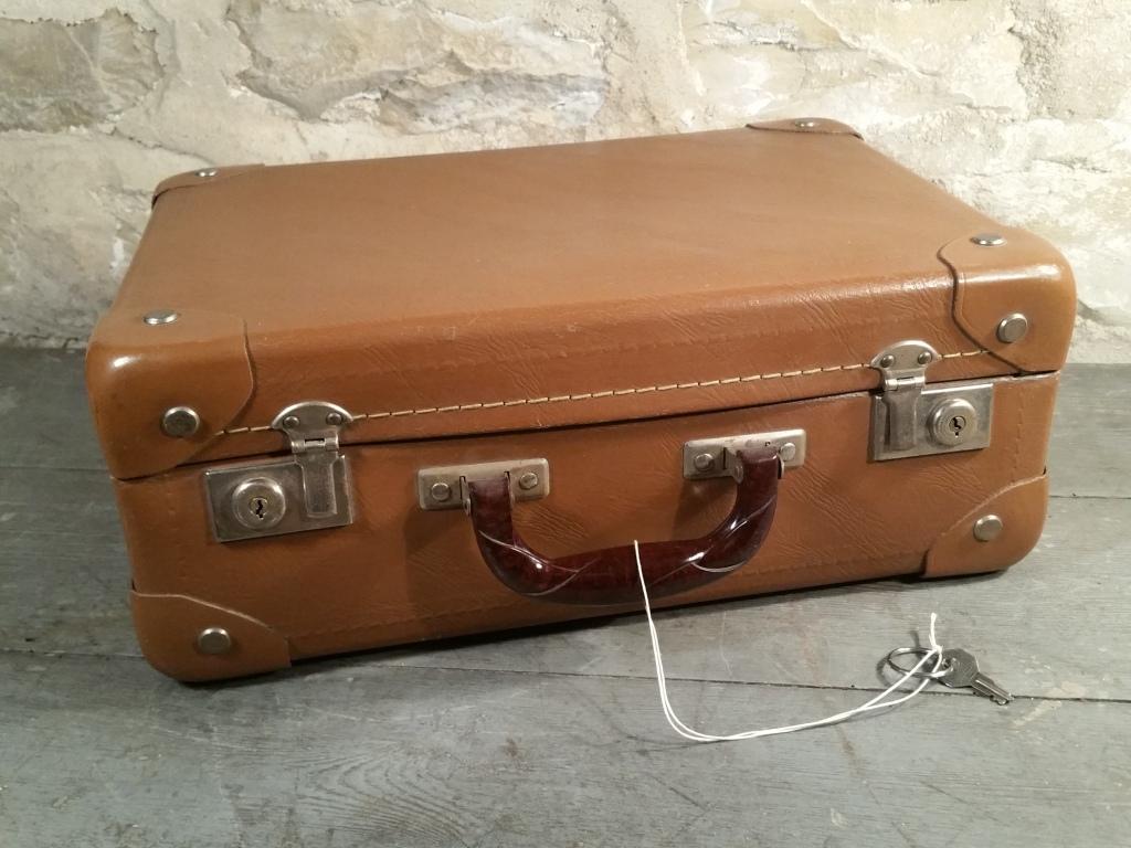 0 valise 60 marron