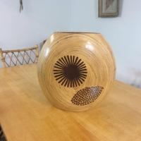 0 vase en bambou