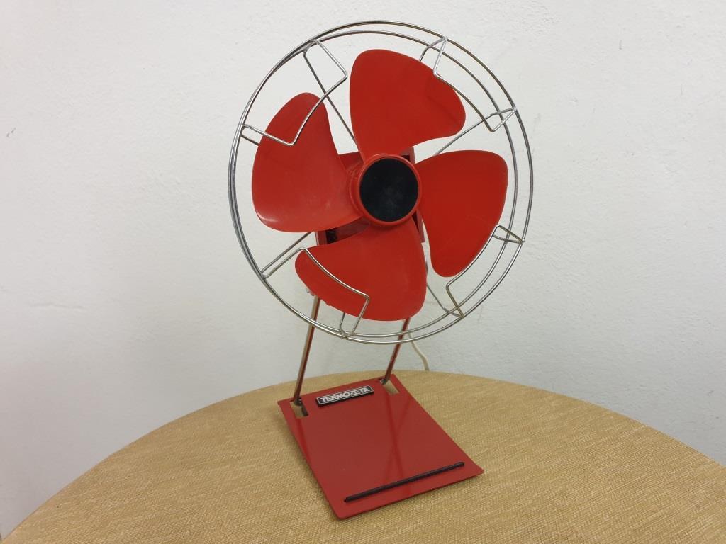0 ventilateur rouge thermozeta