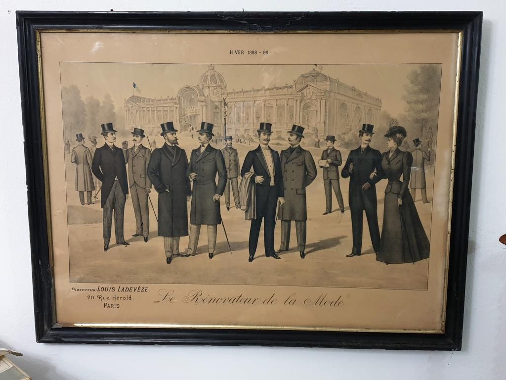 00 grand tableau le renovateur de la mode 1899
