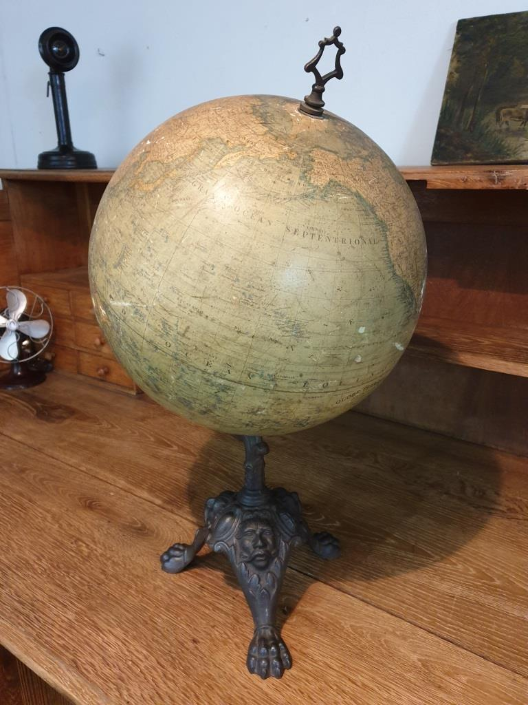 0000 globe terrestre napoleon 3