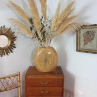 001 vase en bambou