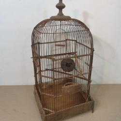 Cage à oiseaux Victorienne