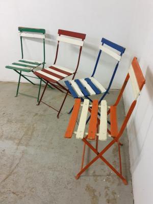 Chaises de jardin Bistrot