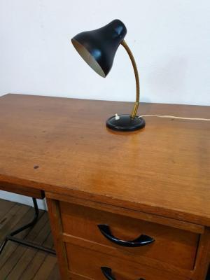 Lampe cocotte noire