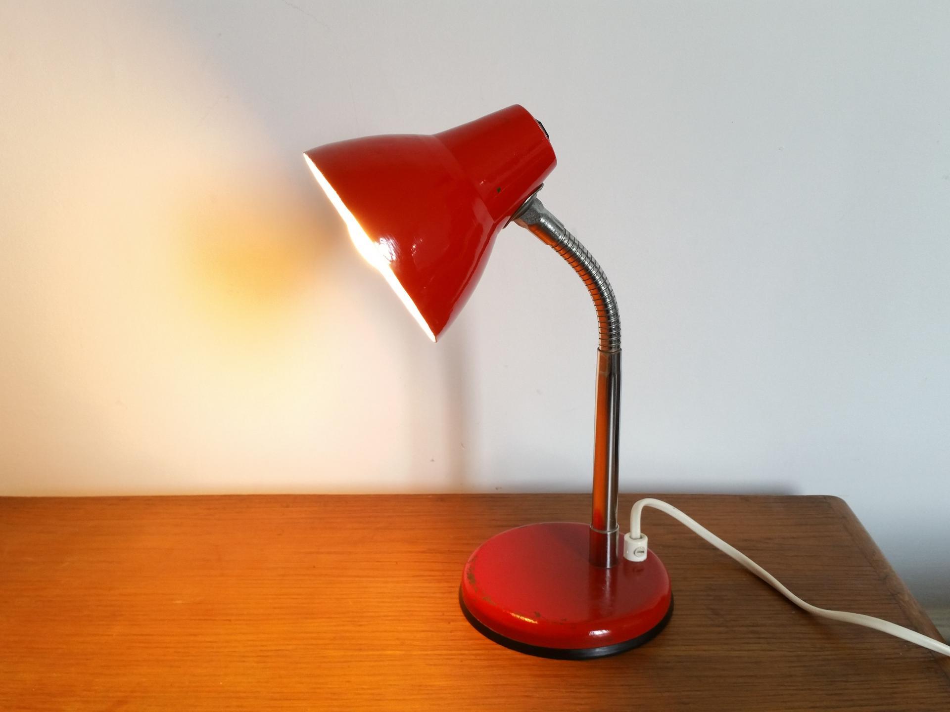01 lampe cocotte rouge