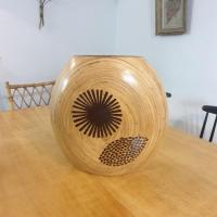 01 vase en bambou