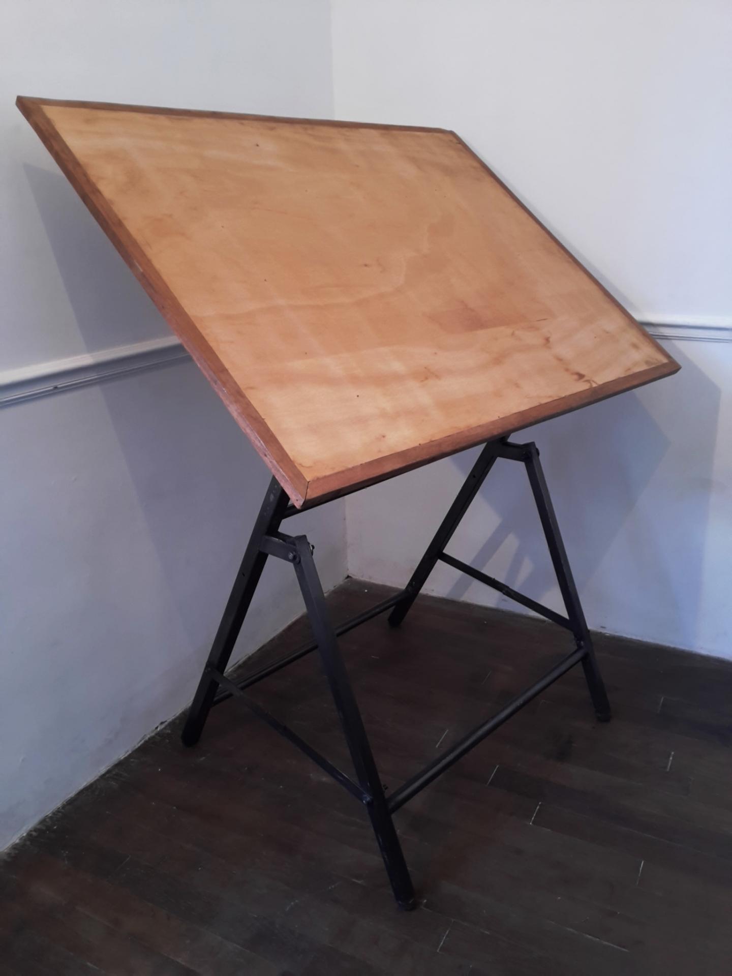 Table A Dessin Industriel table d'architecte table à dessin industriel