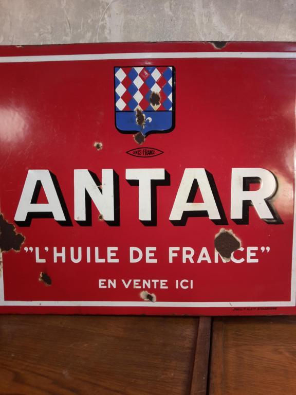 Plaque ANTAR