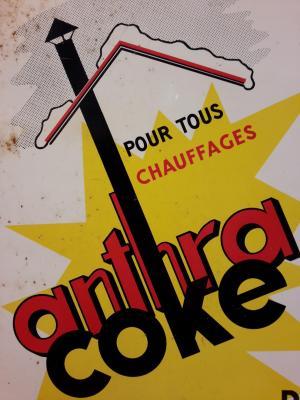 Plaque Charbon ANTHRA