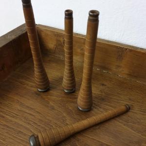1 3 bobines a fil en bois