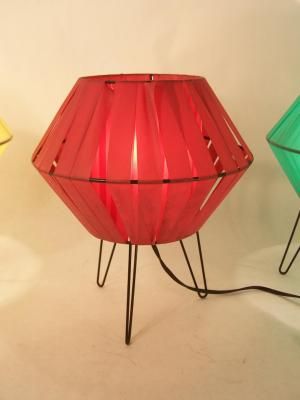 Lampe soucoupe 50's