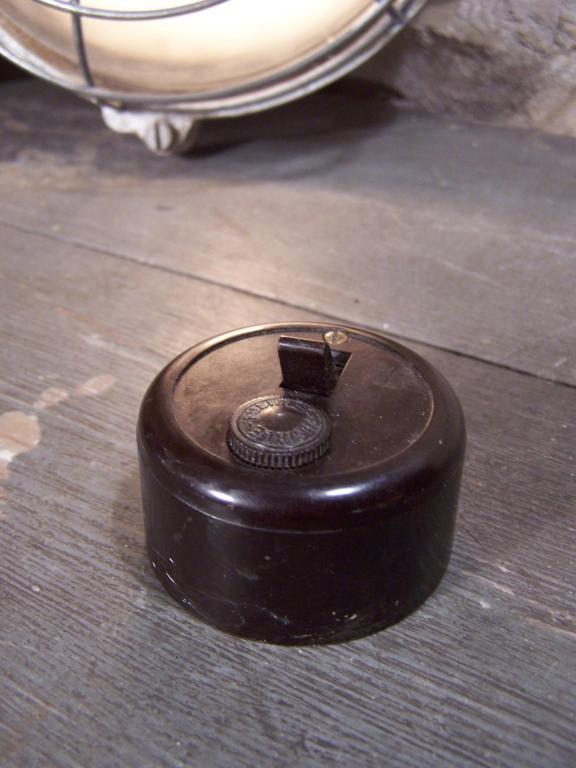 Interrupteur Bakélite