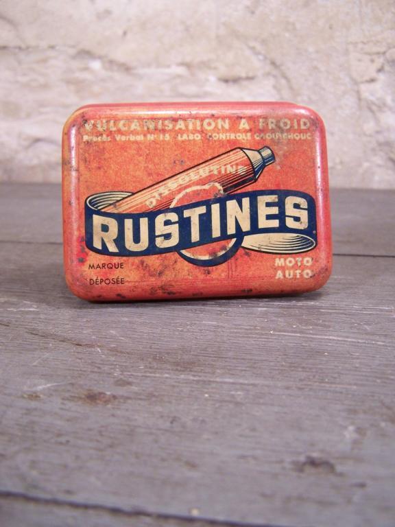 Boite de rustines