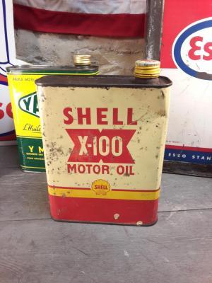Bidon d'huile SHELL