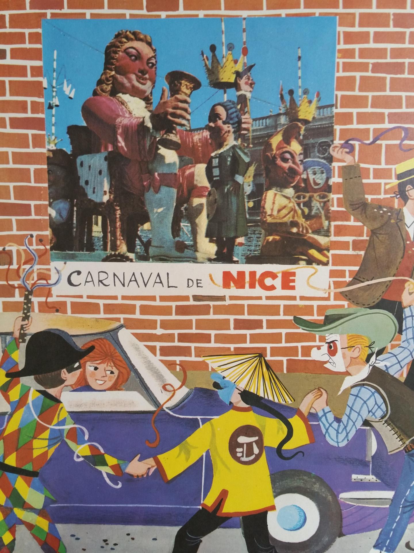 1 affiche carnaval de nice epicerie