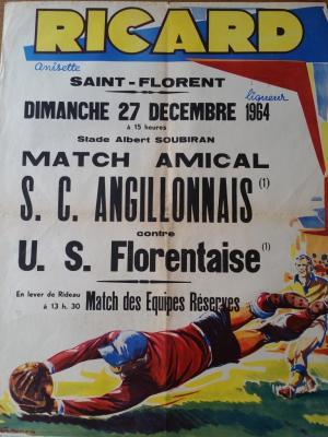Affiche de Match de Foot - RICARD