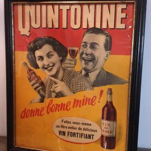 1 affiche encadree quintonine