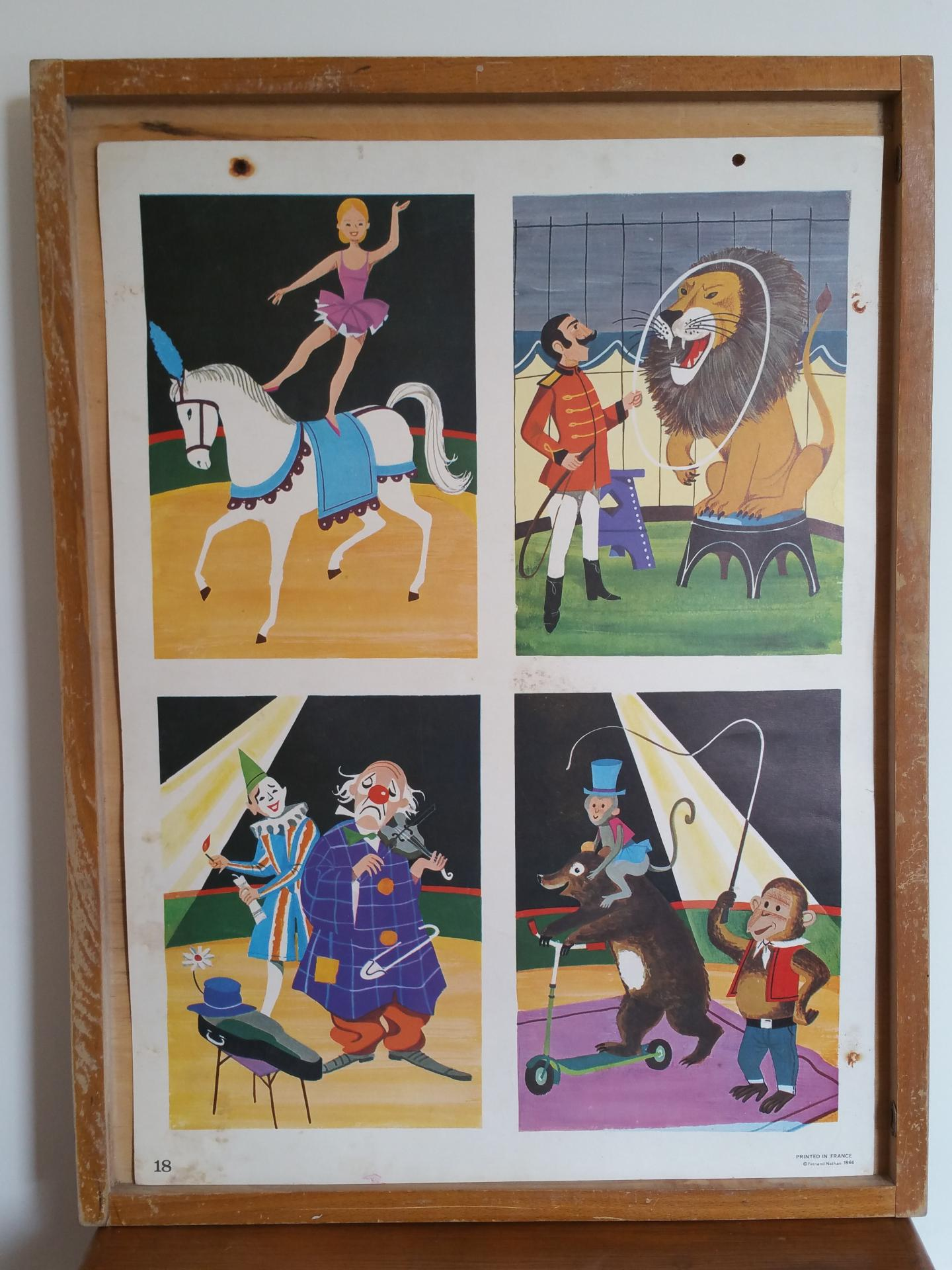 1 affiche la galette des rois le cirque