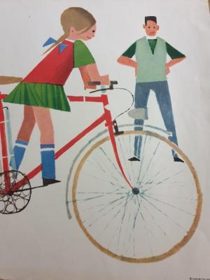 Affiche d'école