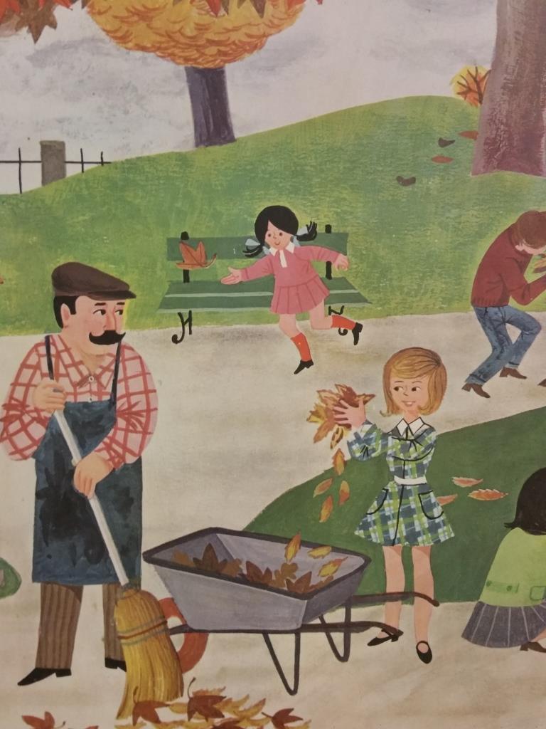 1 affiche scolaire 1966 4 et 5