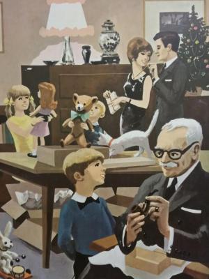 Affiche d'école 1967 - 13/14