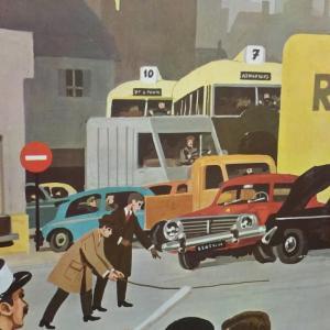 1 affiche scolaire 1967 21 et 22