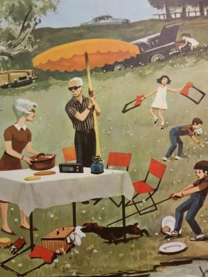 Affiche d'école 1967 - 27/28
