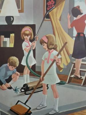 Affiche d'école 1967 - 5/6