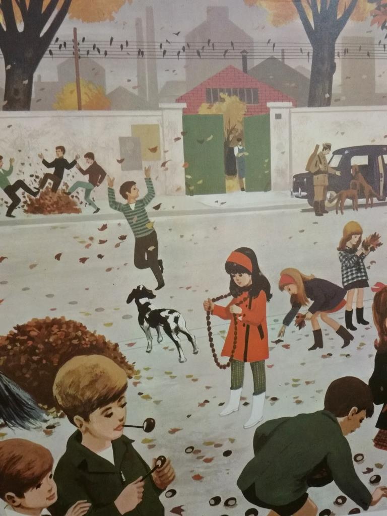 1 affiche scolaire 1967 7 et 8