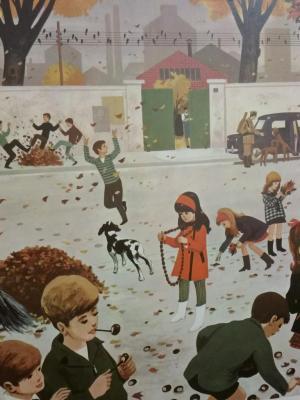 Affiche d'école 1967 - 7/8