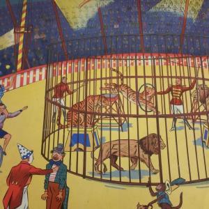 1 affiche scolaire rossignol cirque et averse