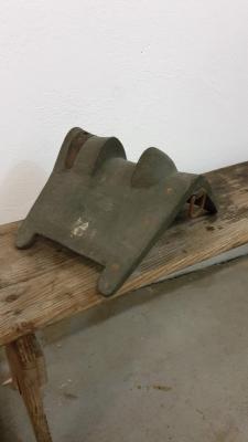 Ancien arçon en bois