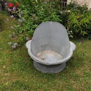1 baignoire enfant en zinc
