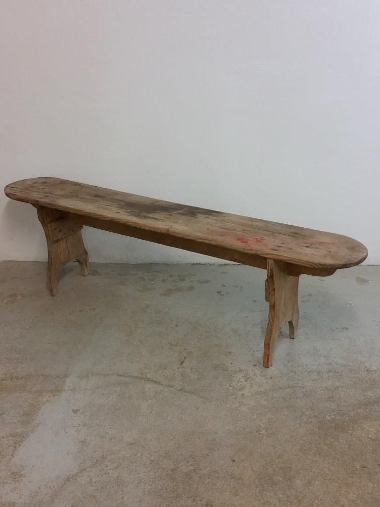 1 banc en bois