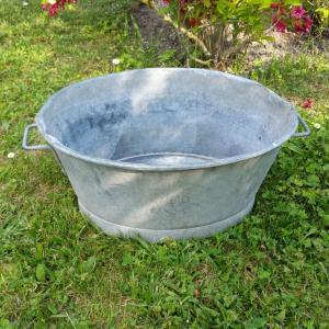 1 bassine en zinc 1