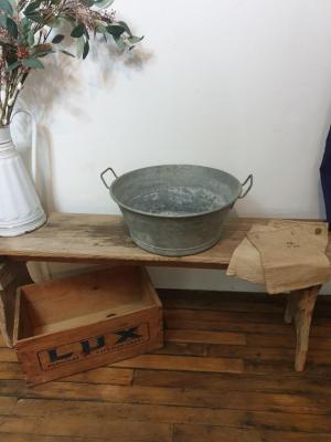 1 bassine en zinc 4