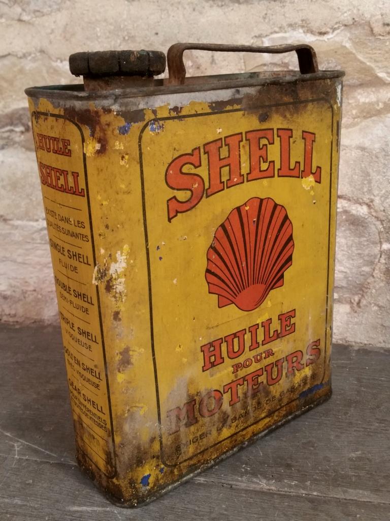 1 bidon huile shell moteurs