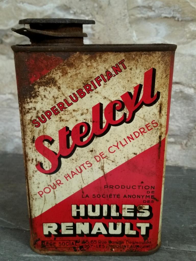 1 bidon huile stelcyl renault