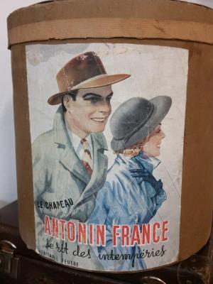Boite à chapeau ANTONIN