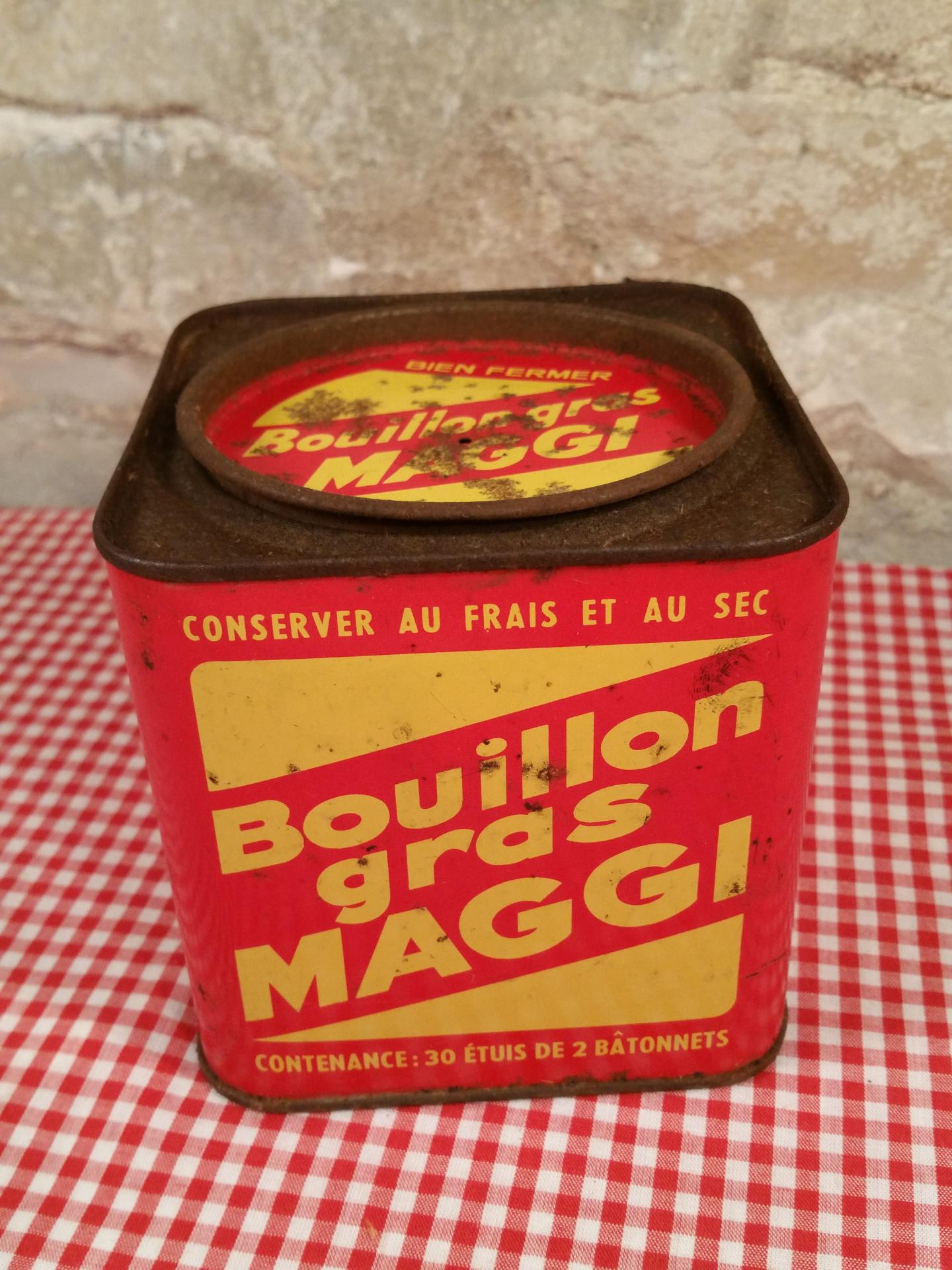 1 boite bouillon maggi