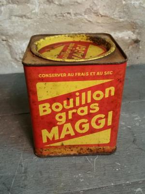1 boite de bouillon maggi