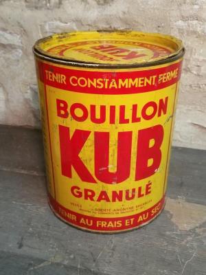 Boite de Bouillon KUB